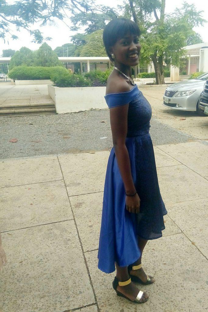 high low waterfall dress