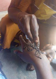 Nigerian henna