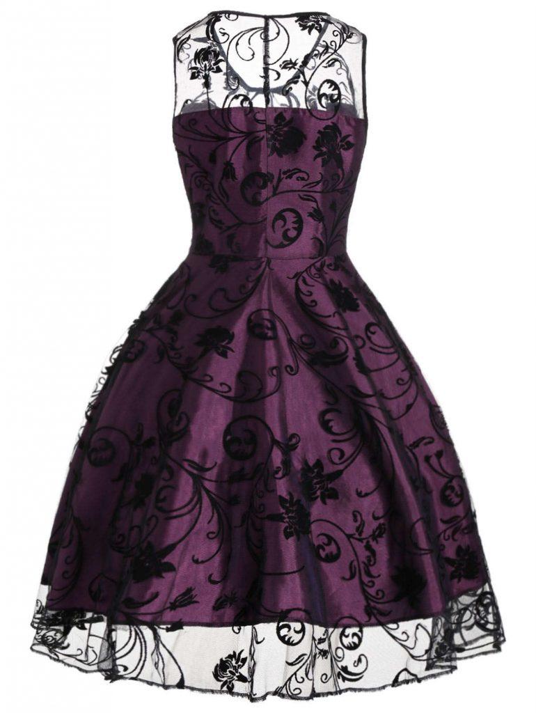 rosegal vintage dress
