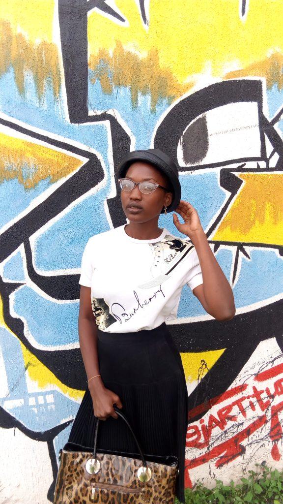 Graffiti x Styling Pleats Skirt