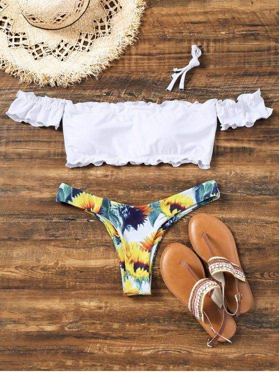 offshoulder bikini