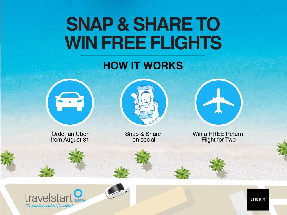 Travelstart Nigeria And Uber Nigeria Announce Flight Partnership With Uberescape